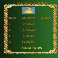 GOLD DONORS